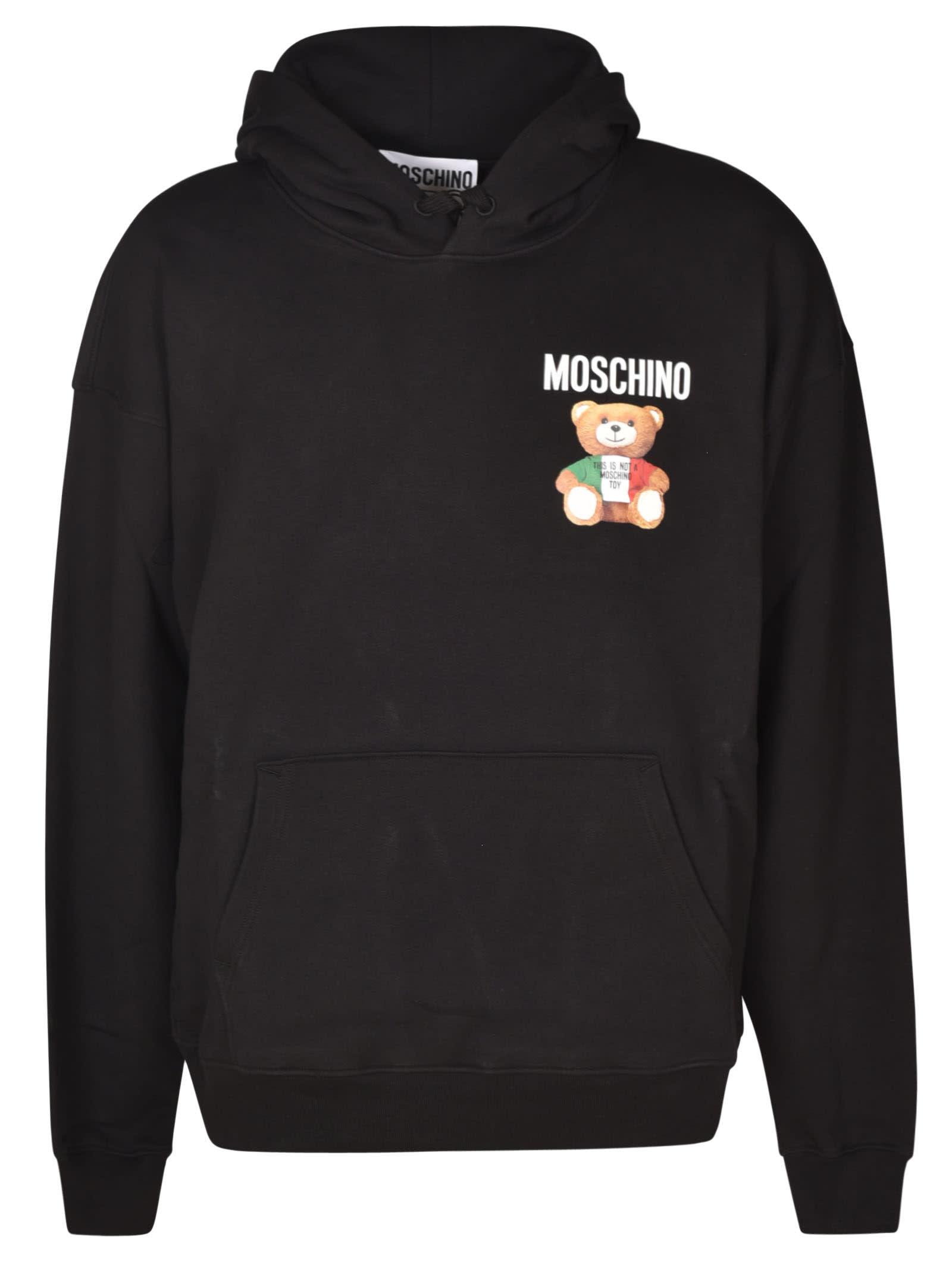 Moschino Bear Logo Hoodie