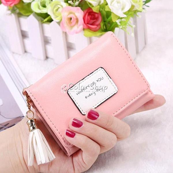 錢包 新款小錢包女短款韓版迷你三折疊學生迷你皮夾個性錢夾零錢卡包女 SUPER SALE 交換禮物