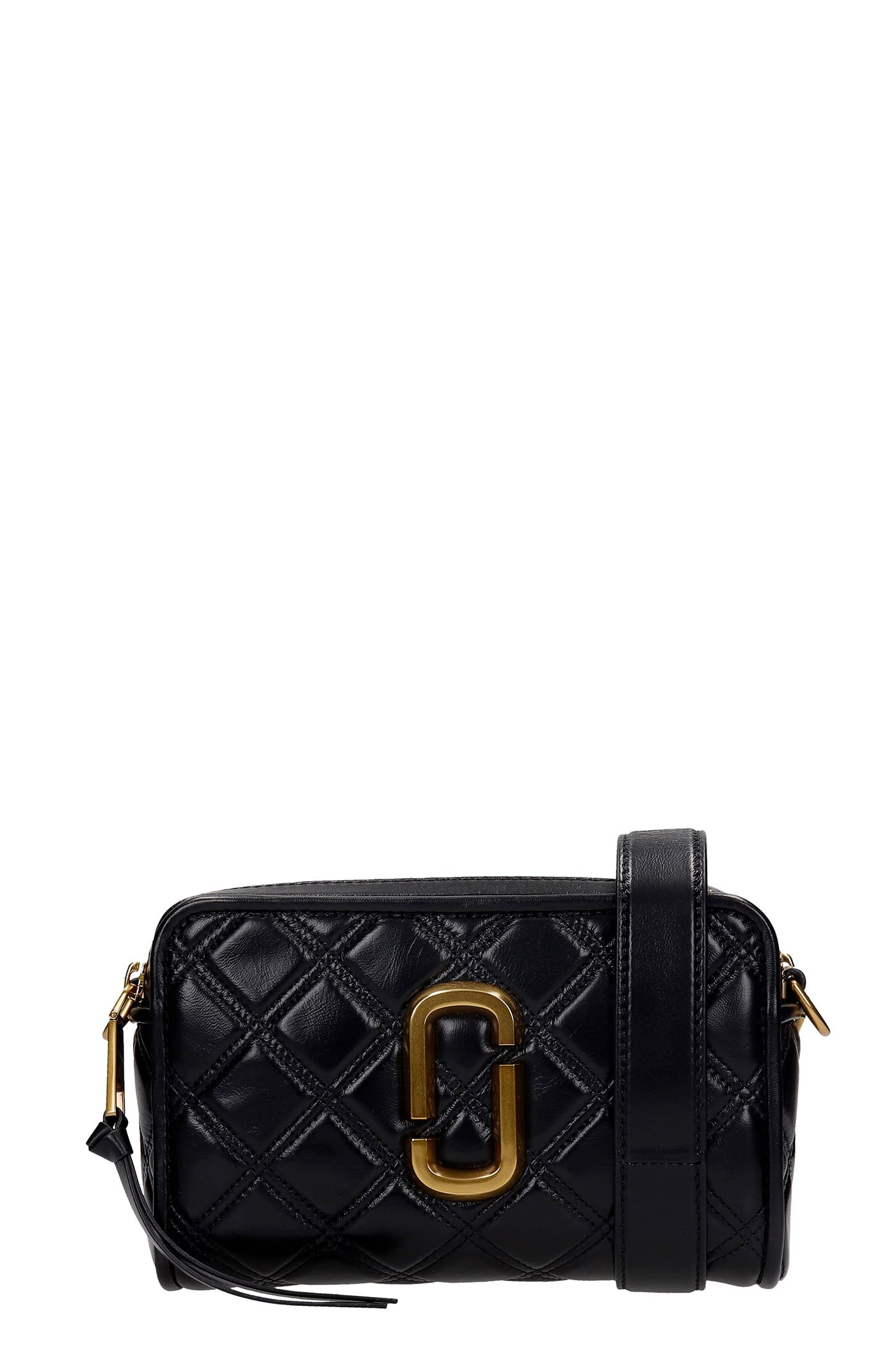 Marc Jacobs Shoulder Bag In Black Leather