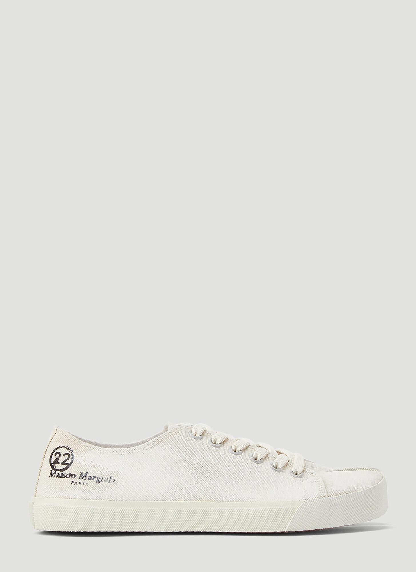 female White 60% Cotton, 40% Linen. 100% Rubber.