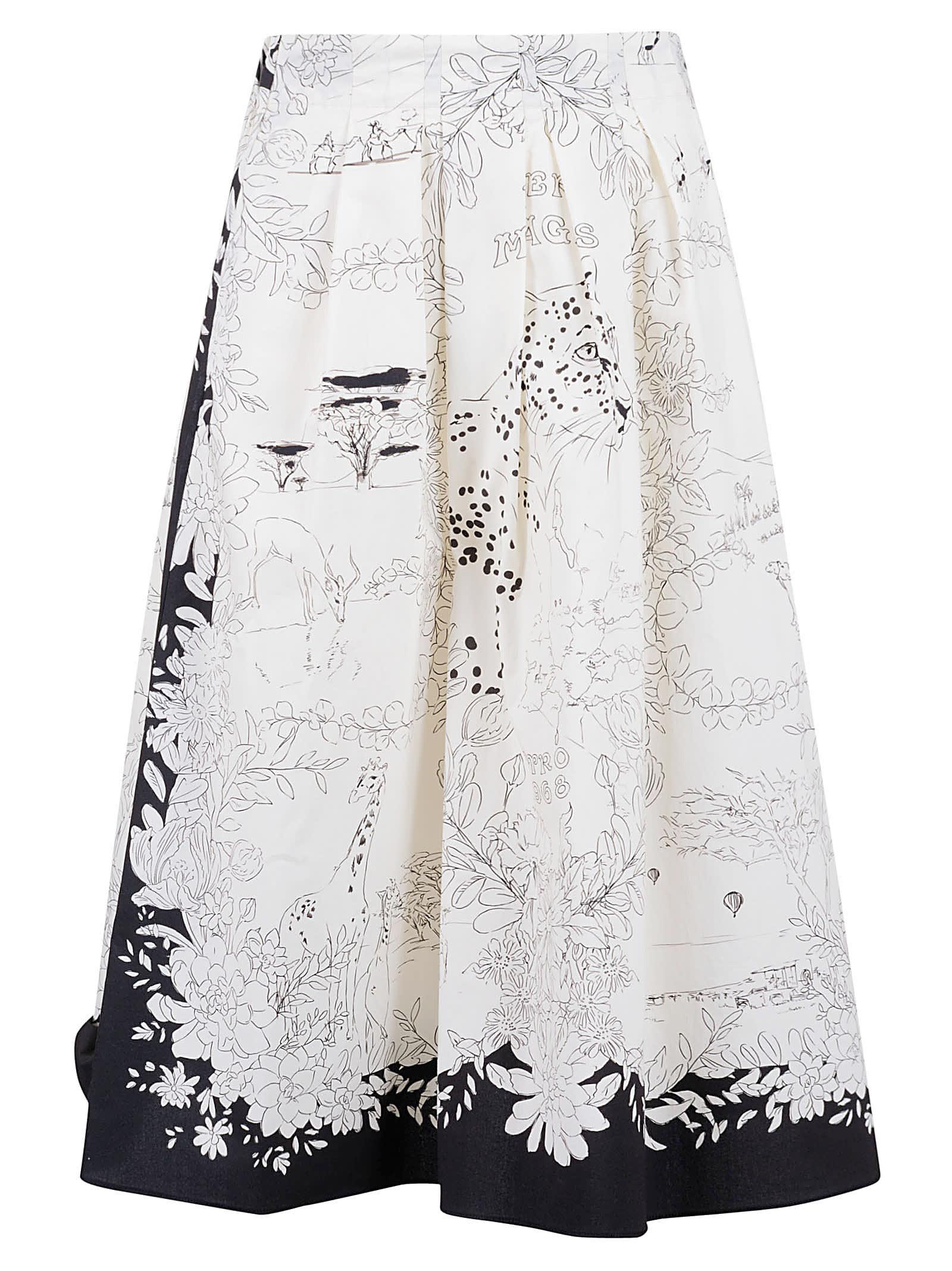 Etro Flared Skirt