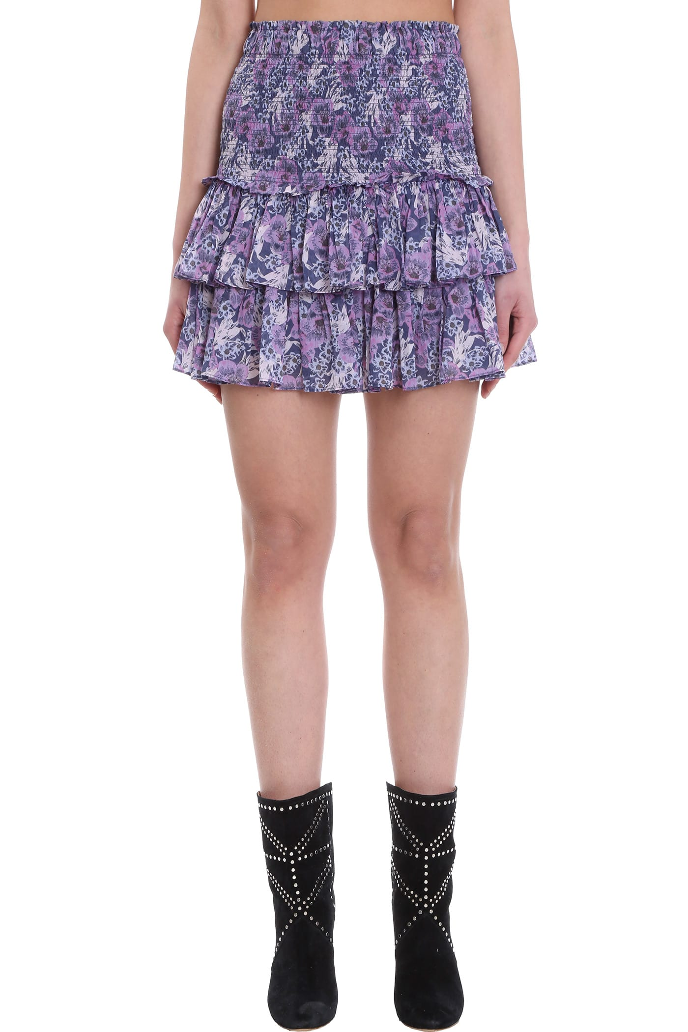 Isabel Marant Étoile Skirt In Blue Cotton