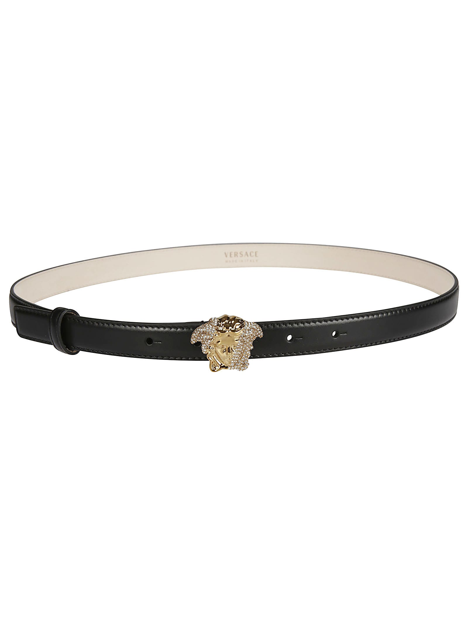 Medusa Logo Buckle Belt
