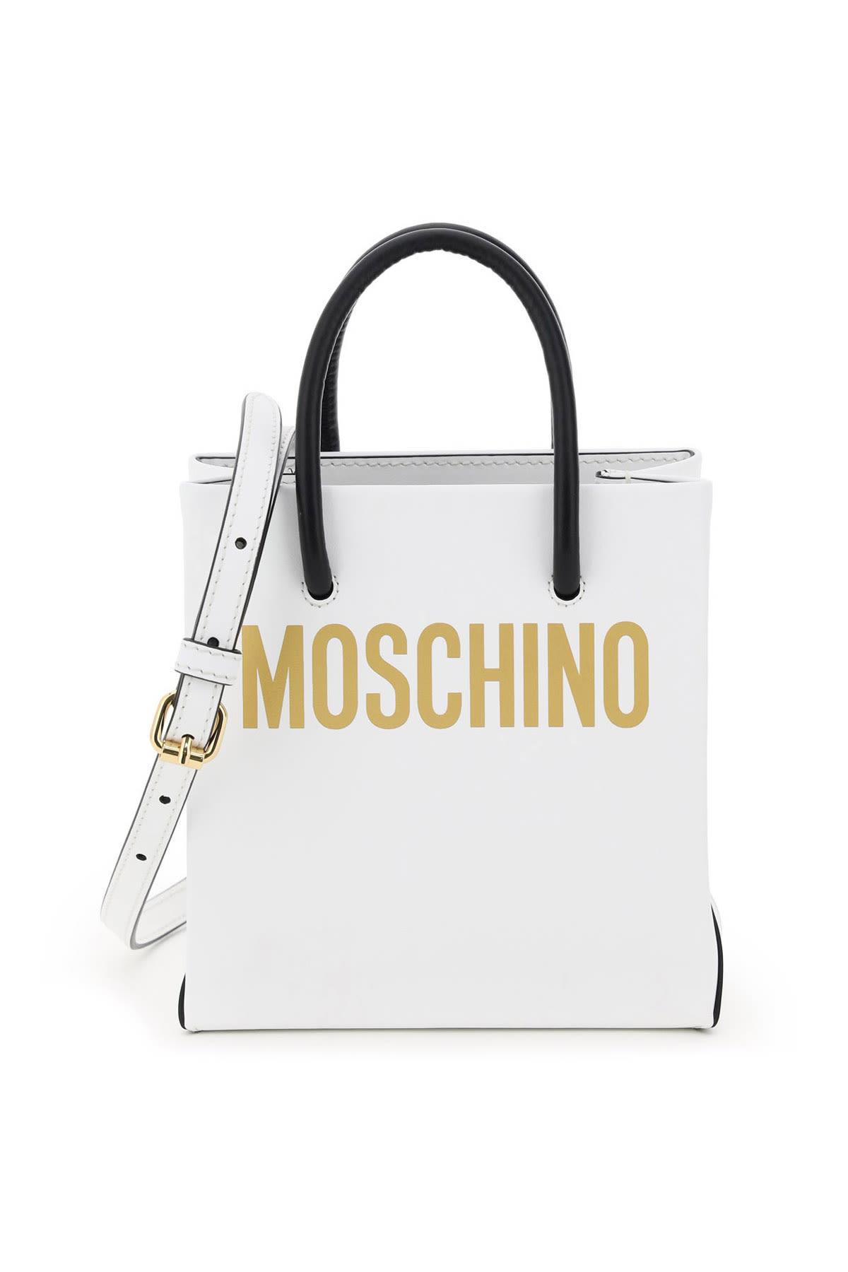 Moschino Mini Shopper With Logo