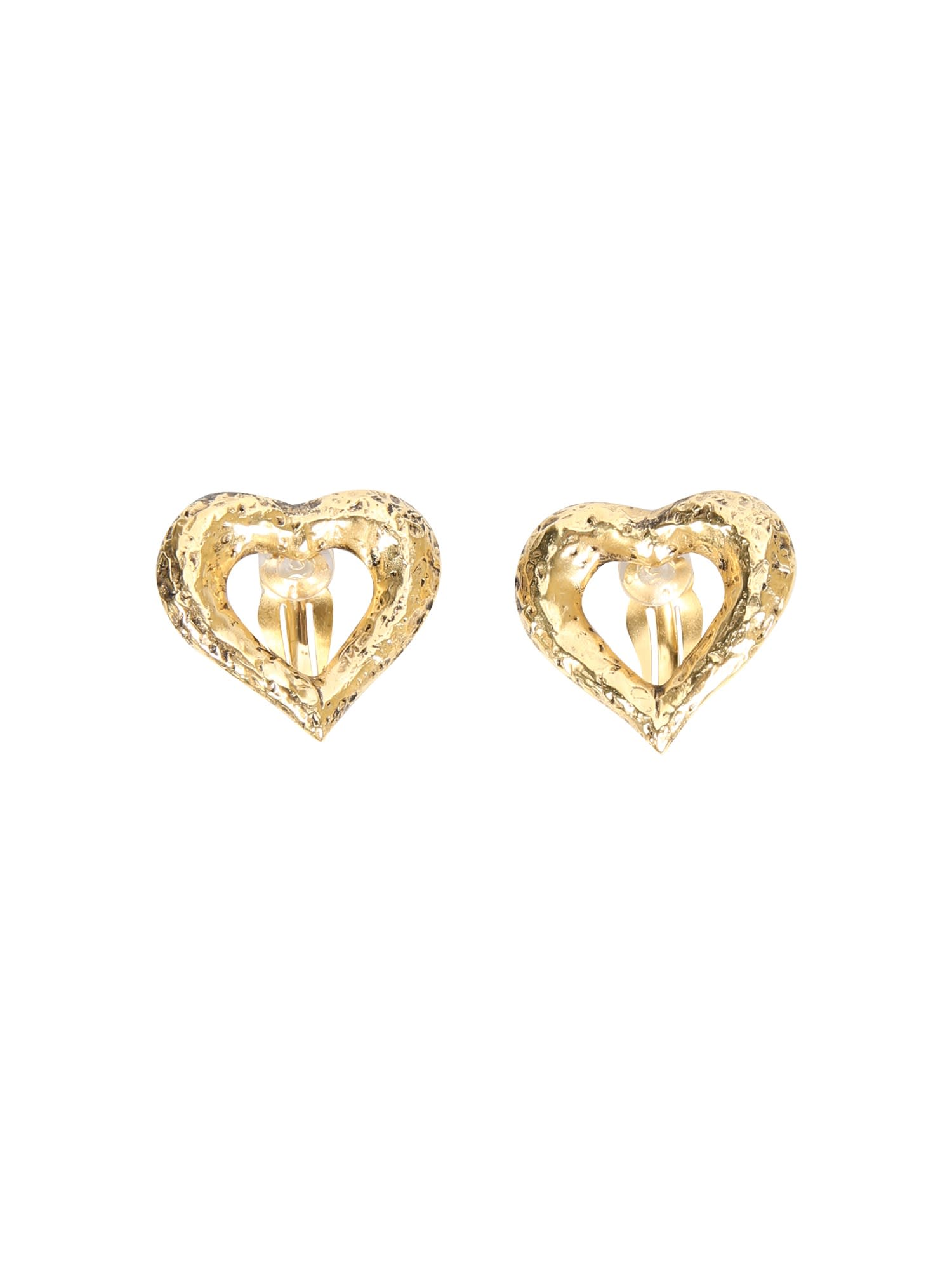 Saint Laurent Clip Earrings