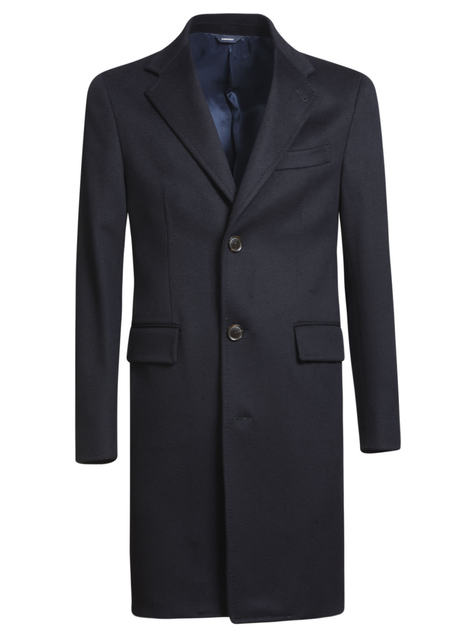 Single-Breasted Buttoned Coat