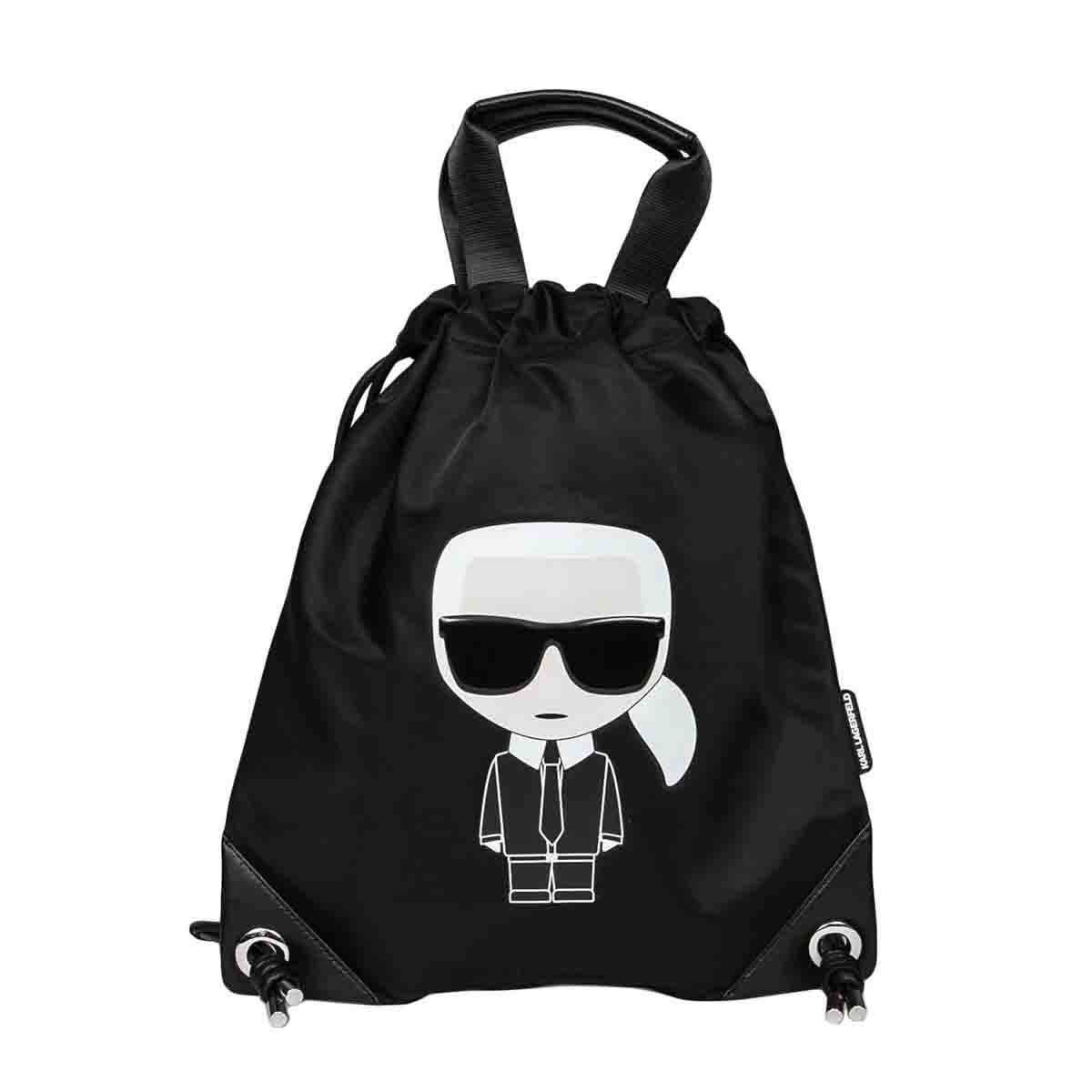 Karl Lagerfeld K/ikonik Flat Backpack