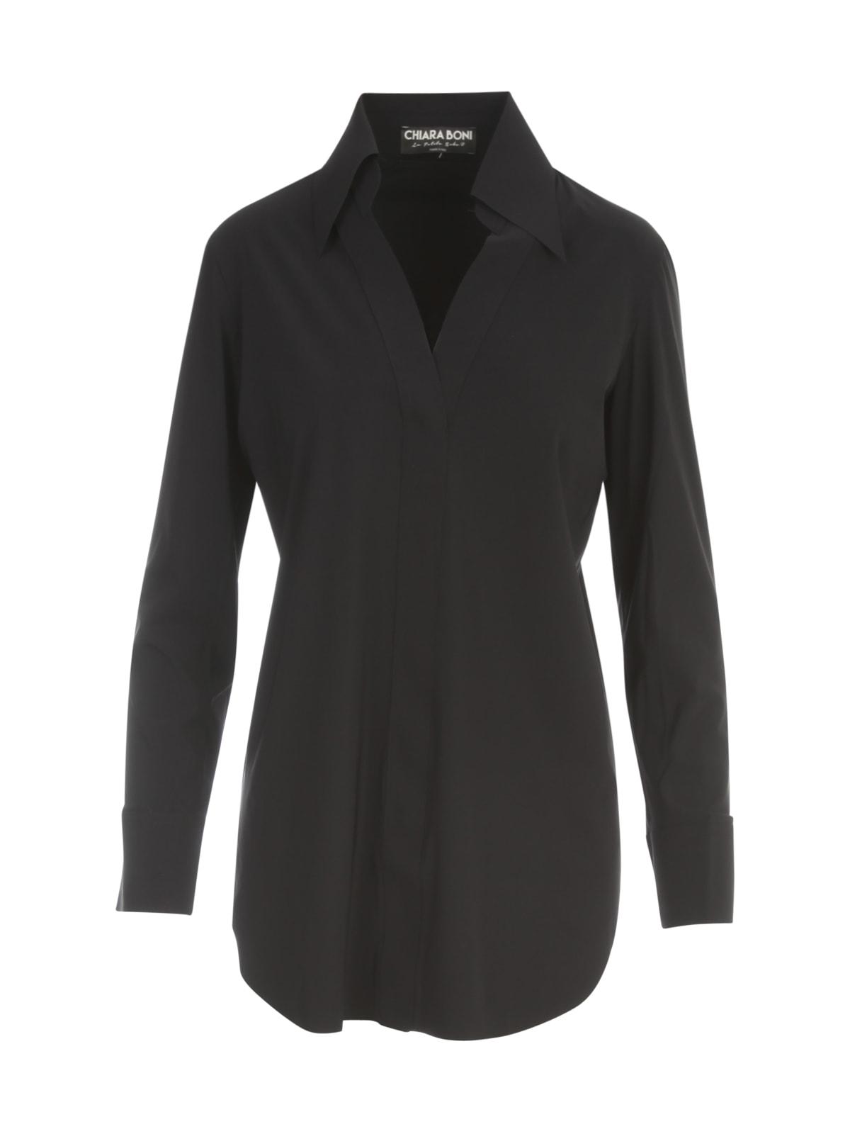 La Petit Robe Di Chiara Boni Polo Neck Shirt