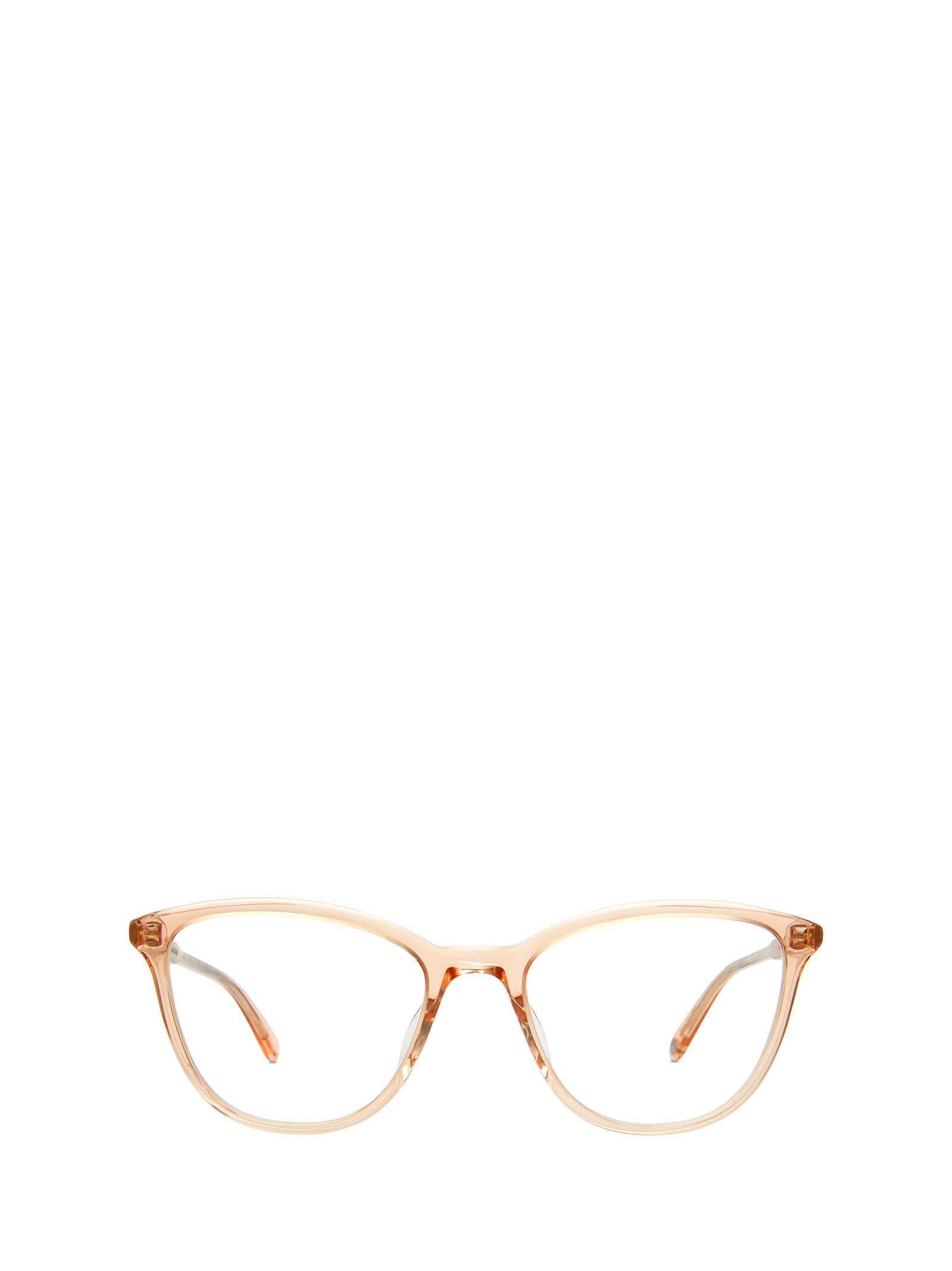 Garrett Leight Garrett Leight Star Pink Crystal Glasses
