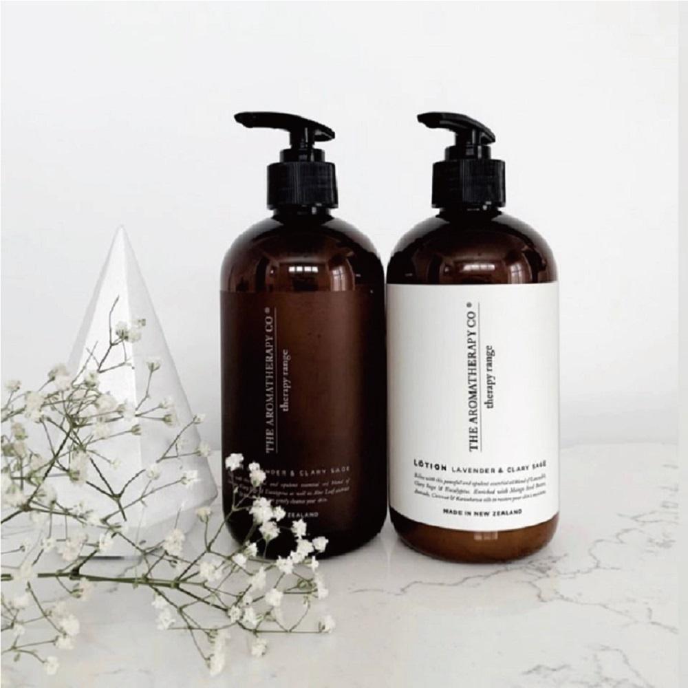 The Aromatherapy Co. 治癒系列-薰衣草和鼠尾草-洗手液沐浴露 500mL