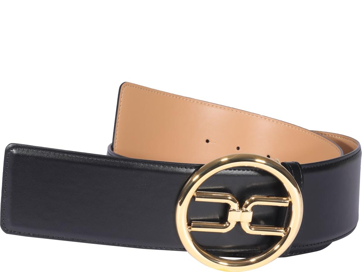 Logo Buckle Belt Elisabetta Franchi
