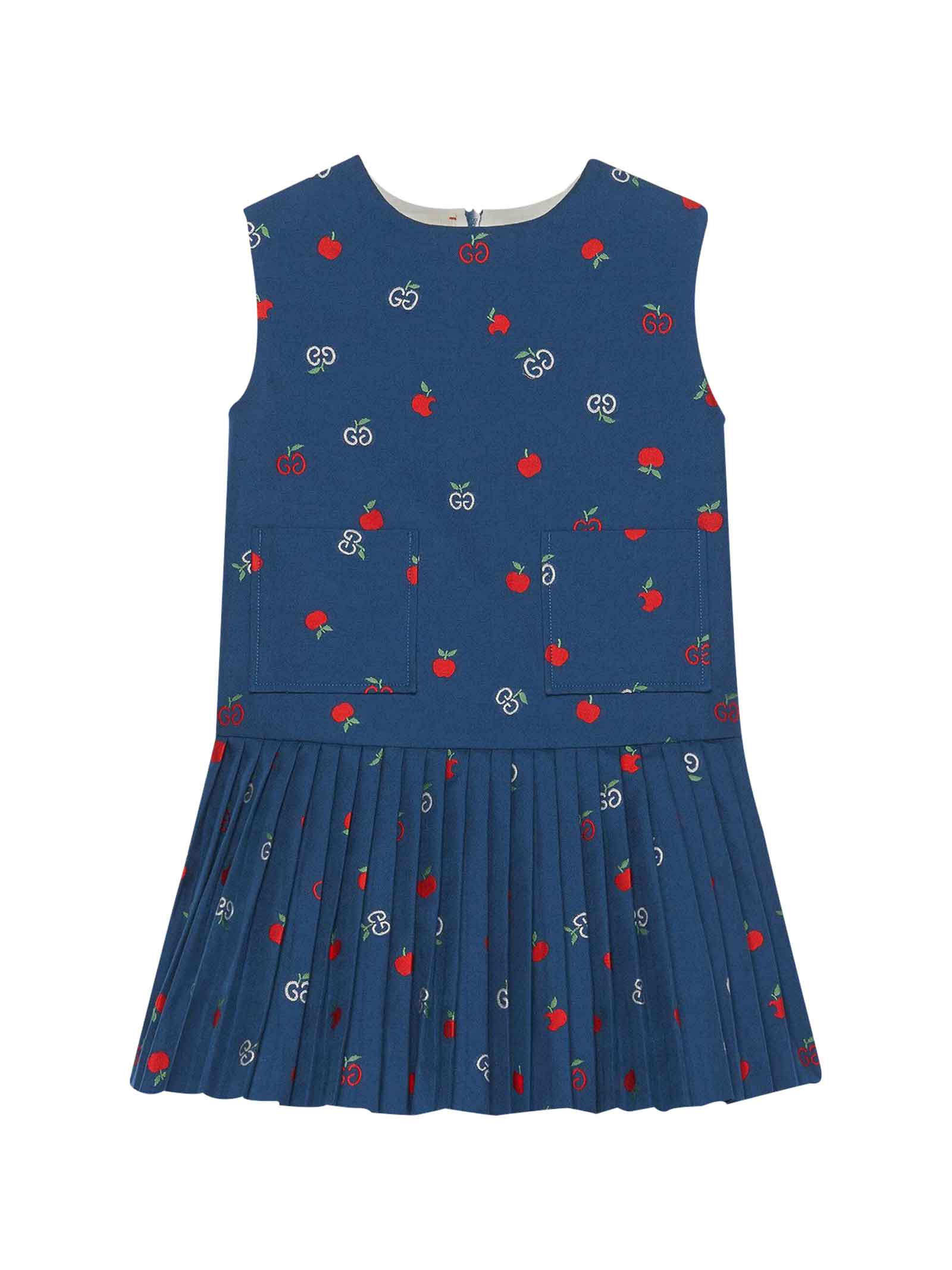 Gucci Blue Girl Dress