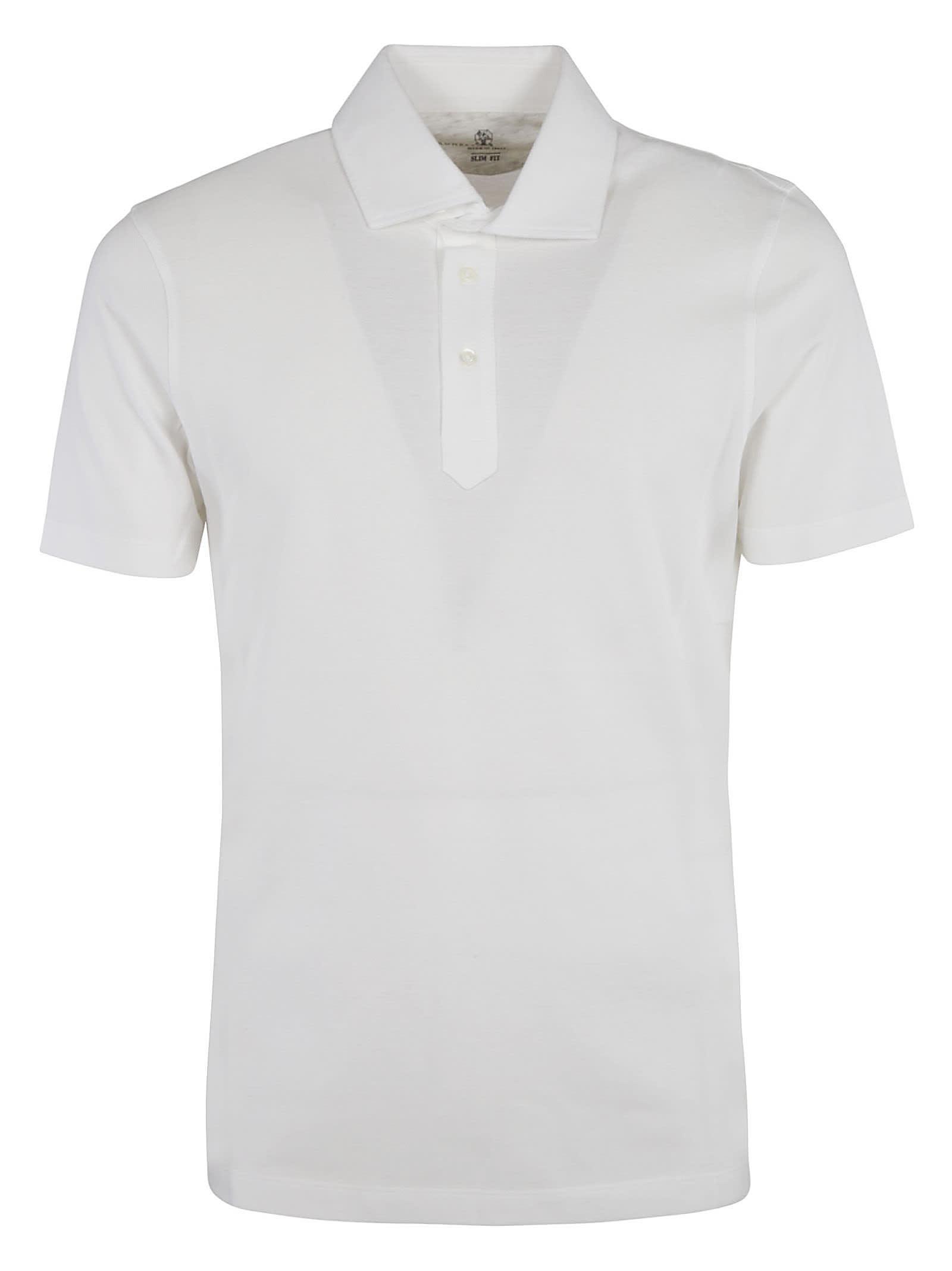 Brunello Cucinelli Classic Plain Polo Shirt