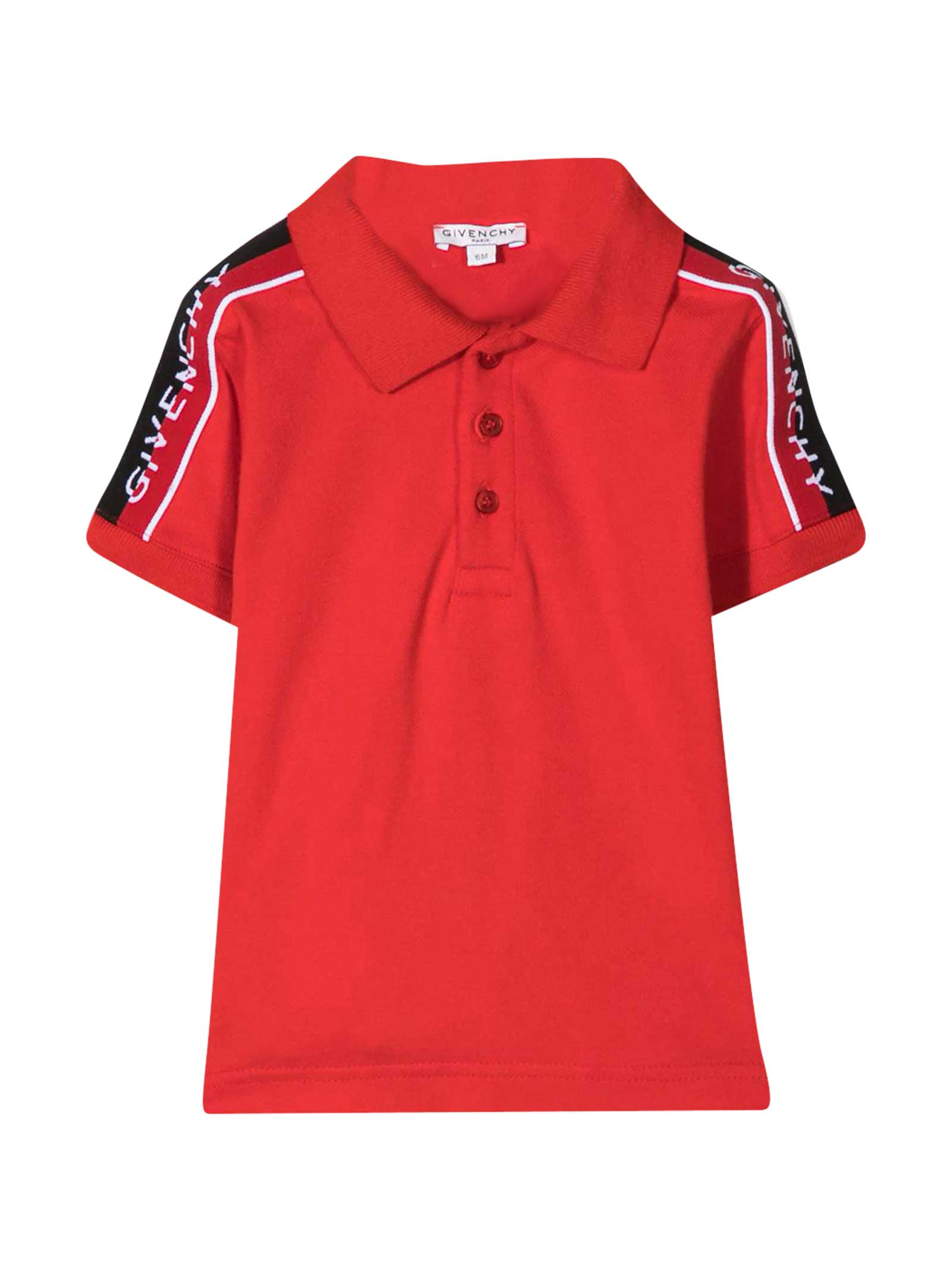 Givenchy Polo Shirt With Intarsia