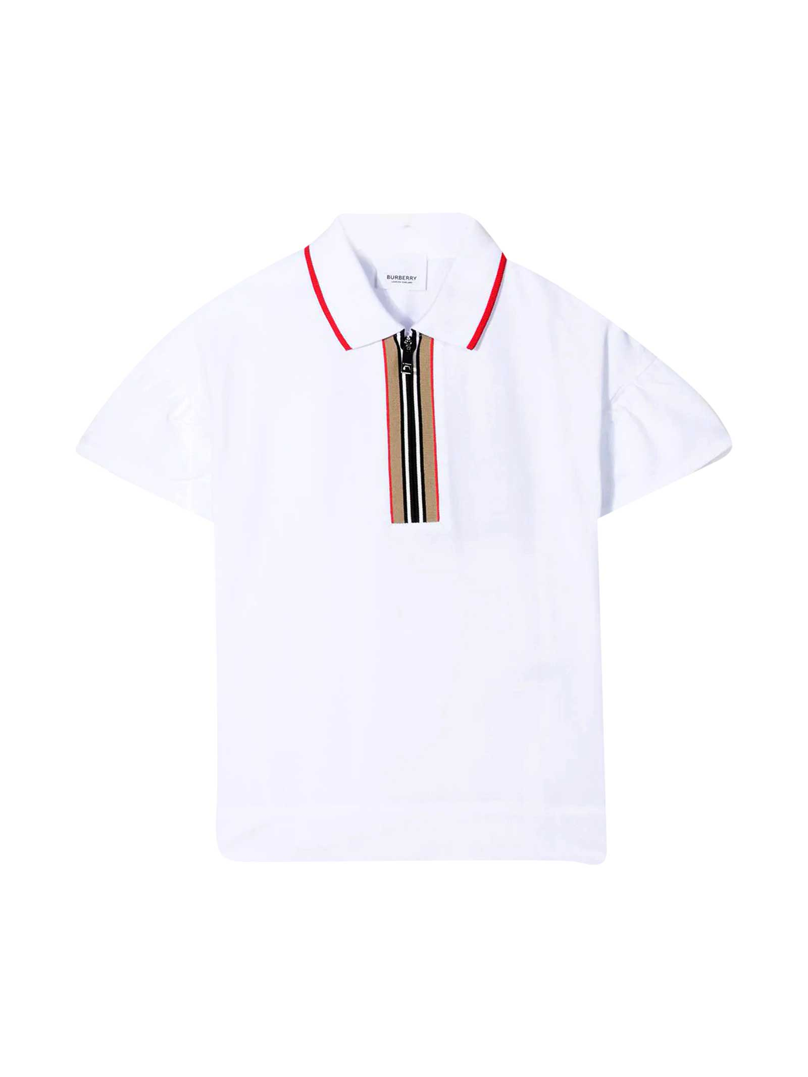Burberry Polo With Zip