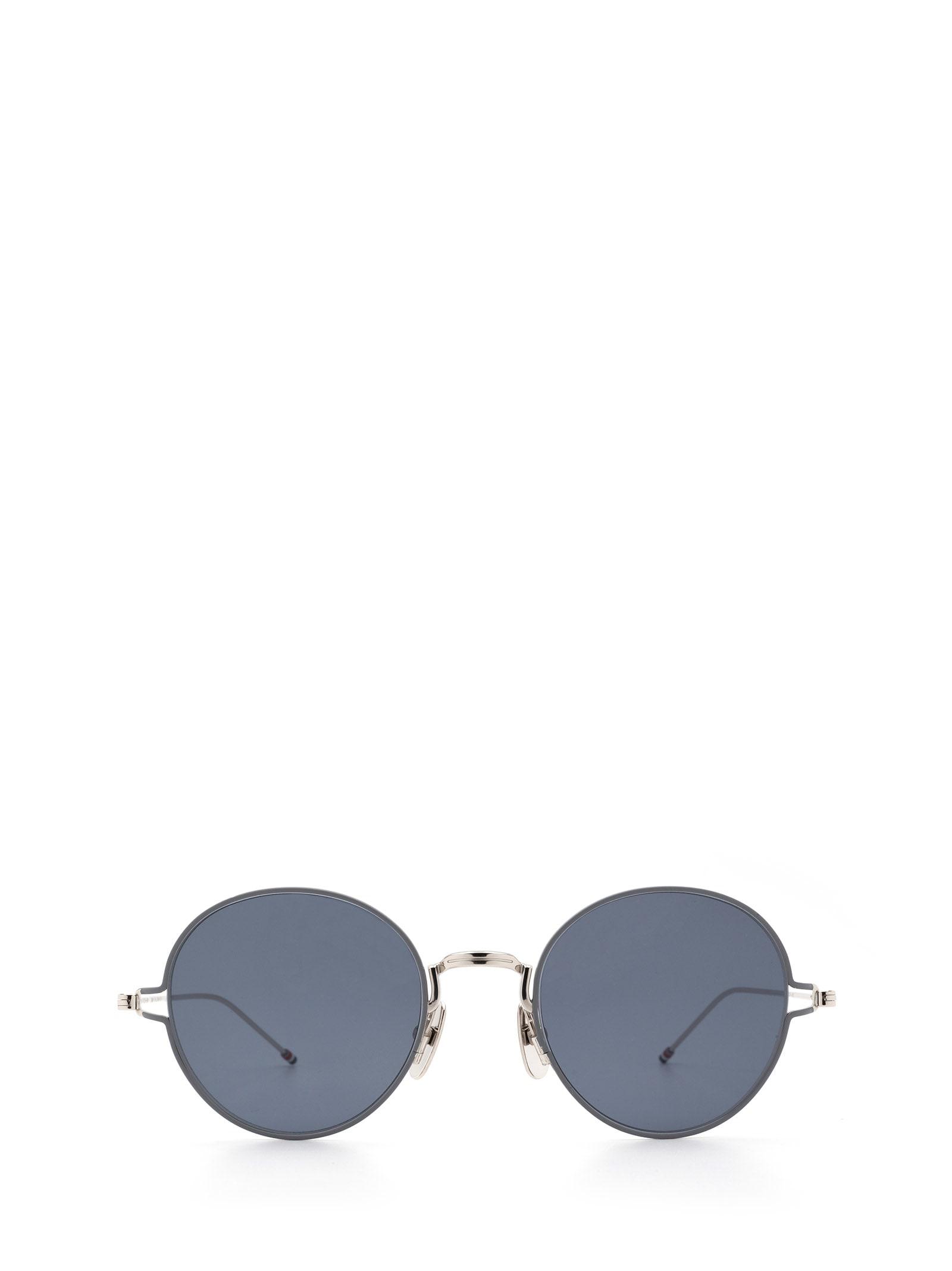 Thom Browne Thom Browne Tbs915 Slv-gry Sunglasses