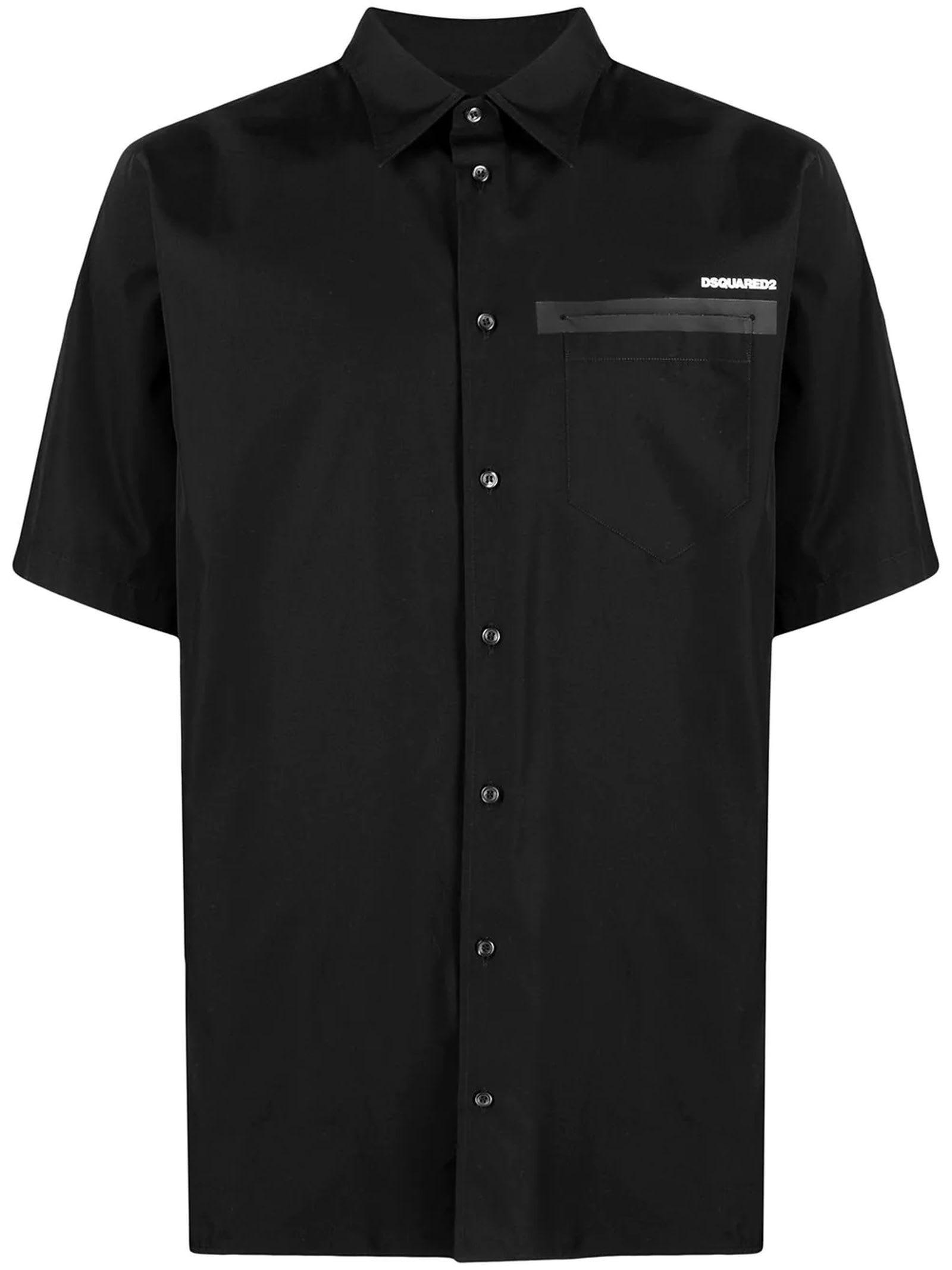 Dsquared2 Black Cotton Shirt