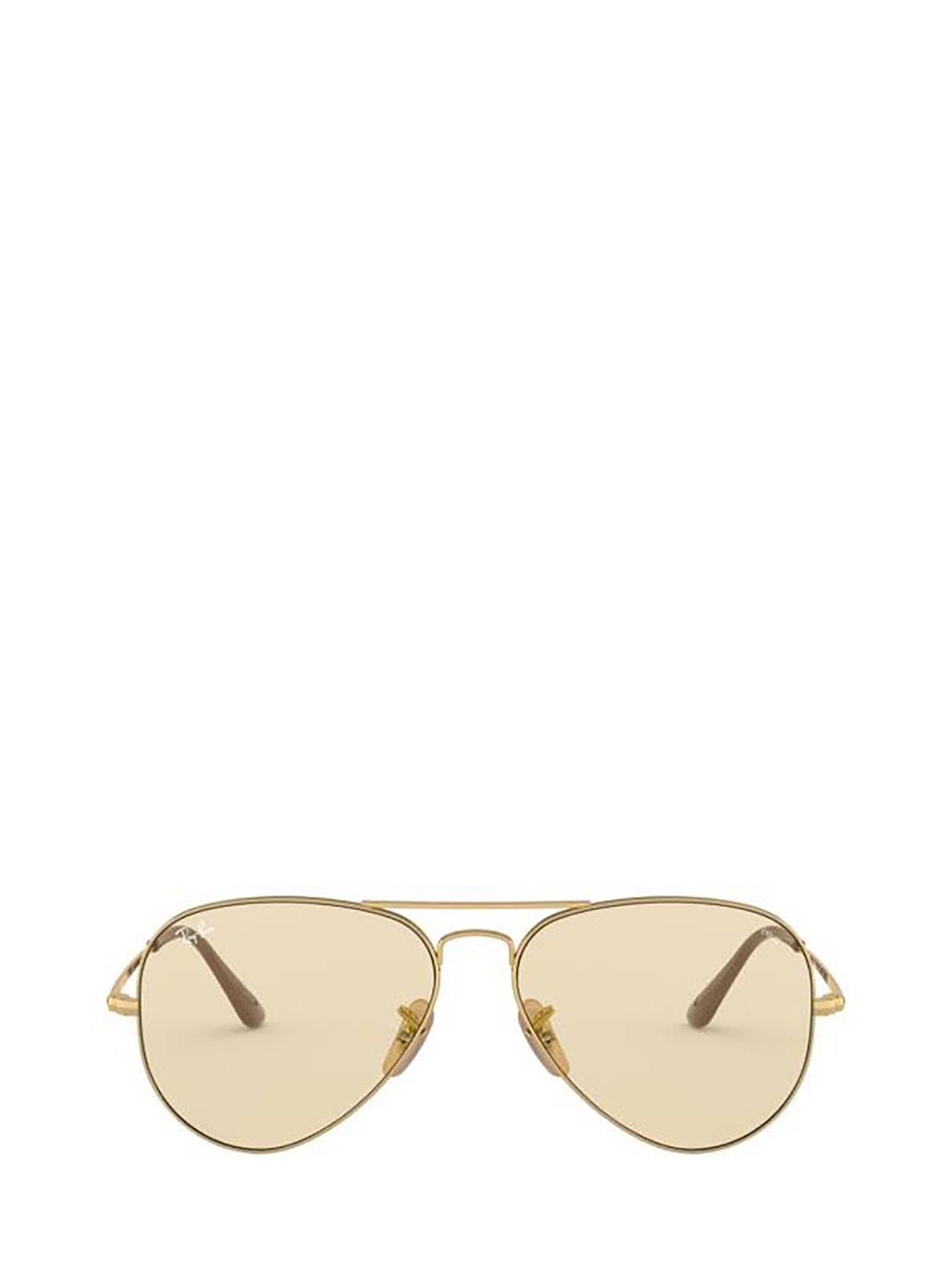 Ray-Ban Ray-ban Rb3689 Gold Sunglasses