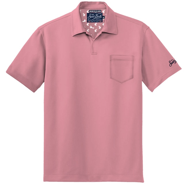Light Jersey Pink Polo