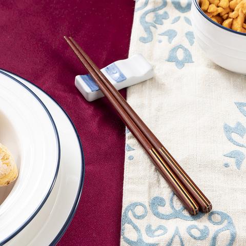 箸福線條木筷23CM