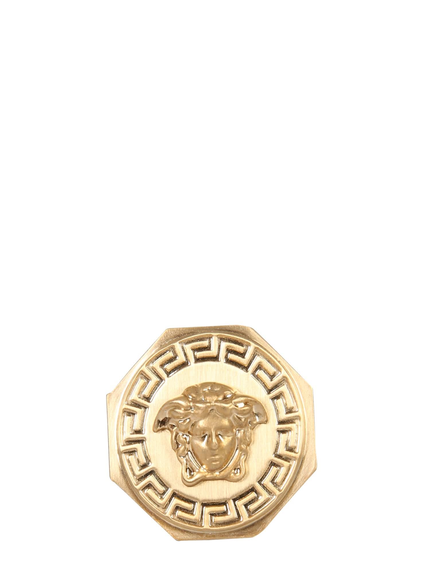 Versace Medusa And Greek Ring