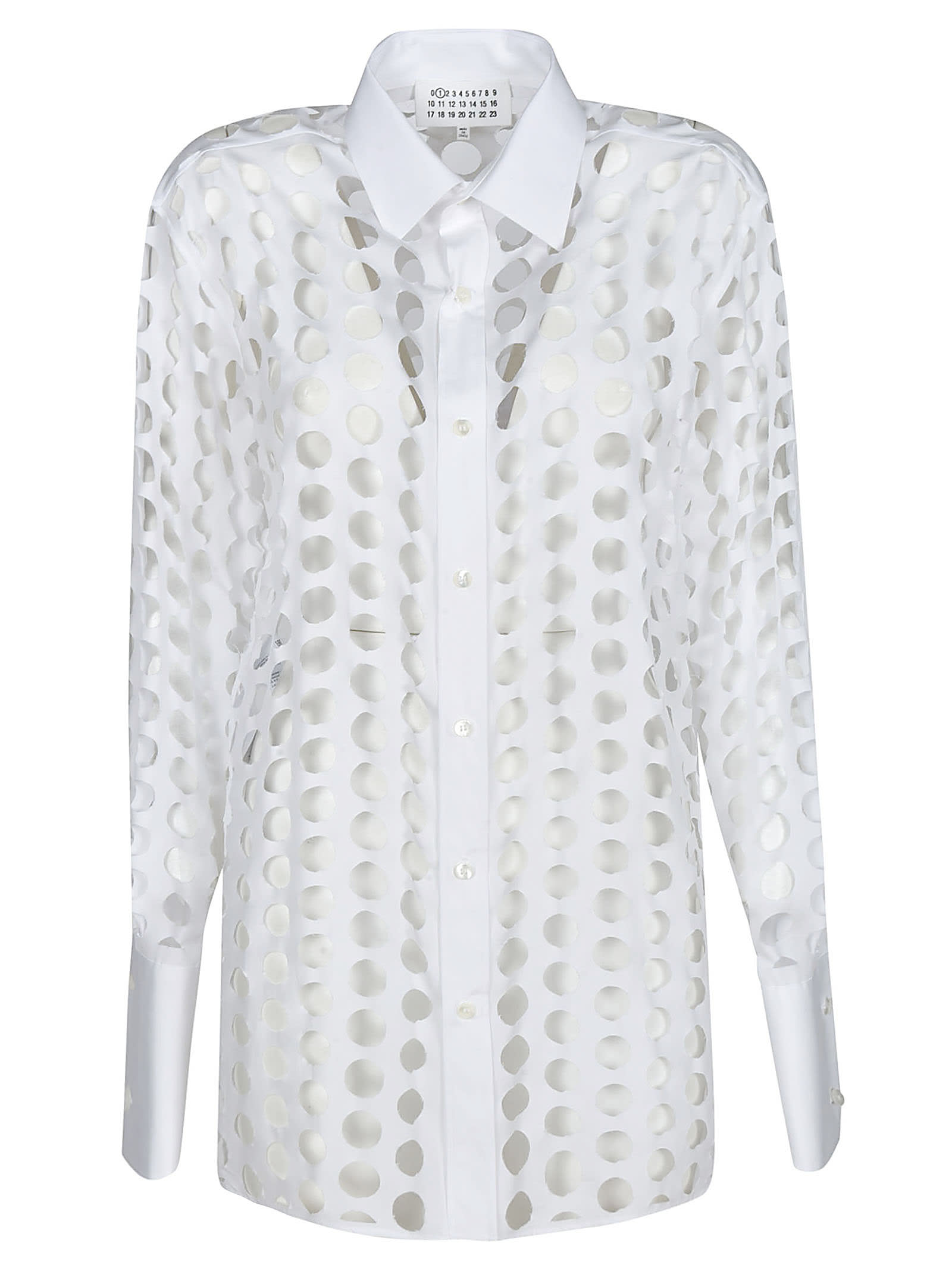 Maison Margiela Perforated Plain Shirt