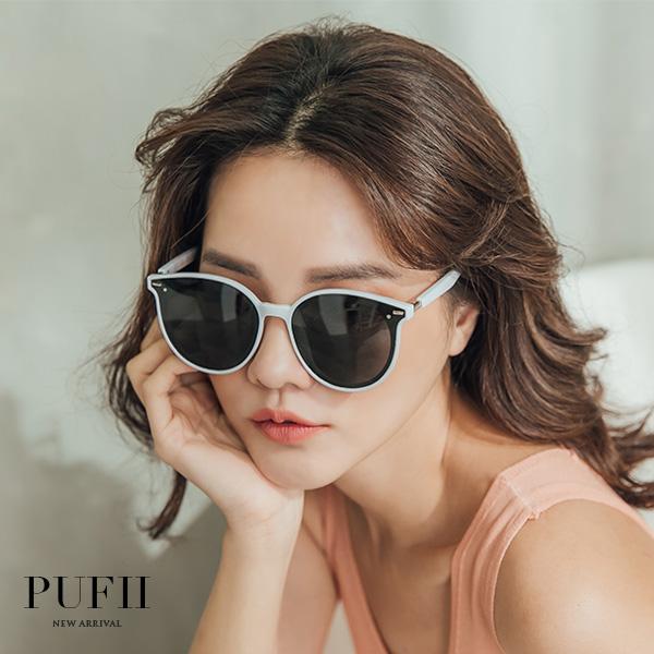 ◆限量現貨◆PUFII-眼鏡 膠框墨鏡太陽眼鏡-0411 現+預 春【CP16177】
