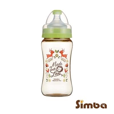 小獅王辛巴 桃樂絲PPSU寬口雙凹中奶瓶(遇見丘比特)