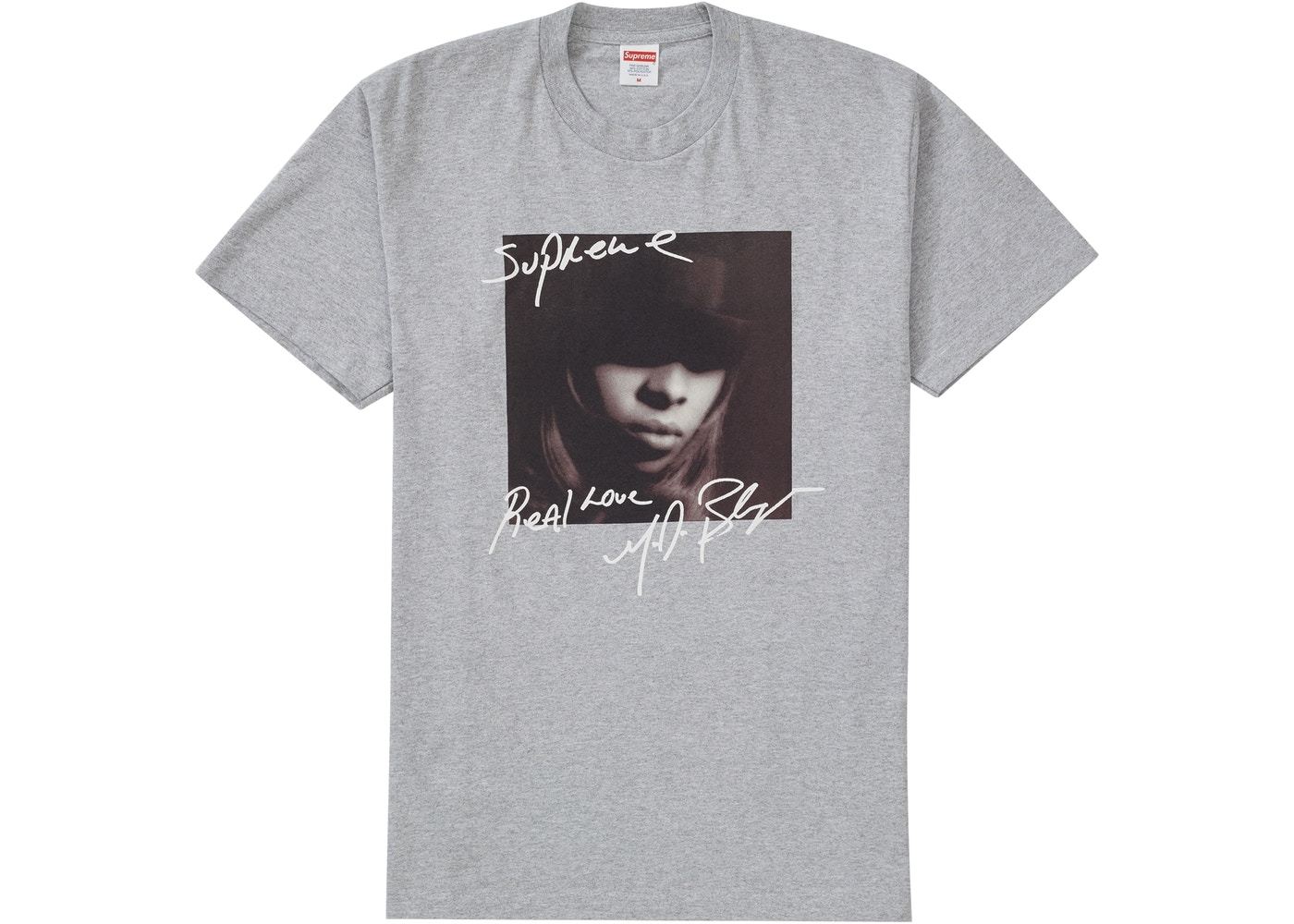 Supreme Mary J. Blige Tee 灰