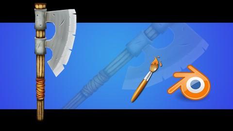 Blender 2.8: Modliser et texturer une arme lowpoly