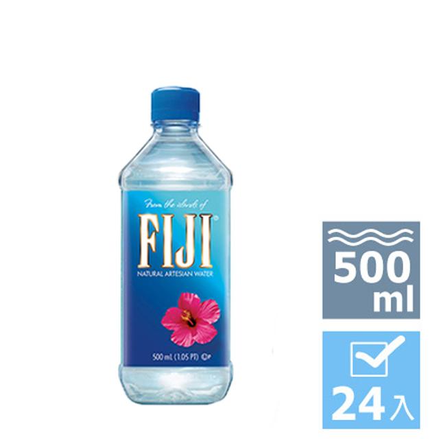 FIJI Water斐濟天然深層礦泉水(500ml x 24瓶)