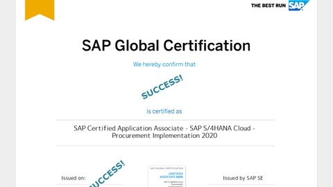 SAP S/4HANA Cloud - Procurement Implementation Practice Exam