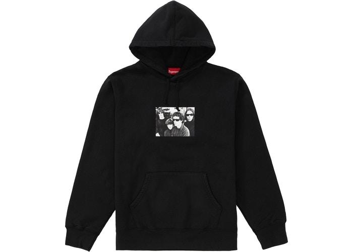 Supreme The Velvet Underground Hooded Sweatshirt 帽T 黑