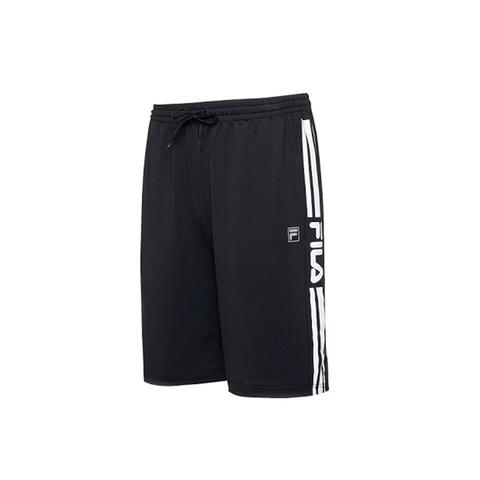 FILA 針織短褲-黑 1SHV-1328-BK