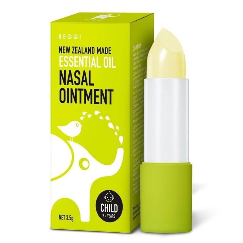 紐西蘭 BEGGI 精油護鼻膏 3.5g 麥蘆卡 鼻精靈 兒童款 通鼻棒 2425