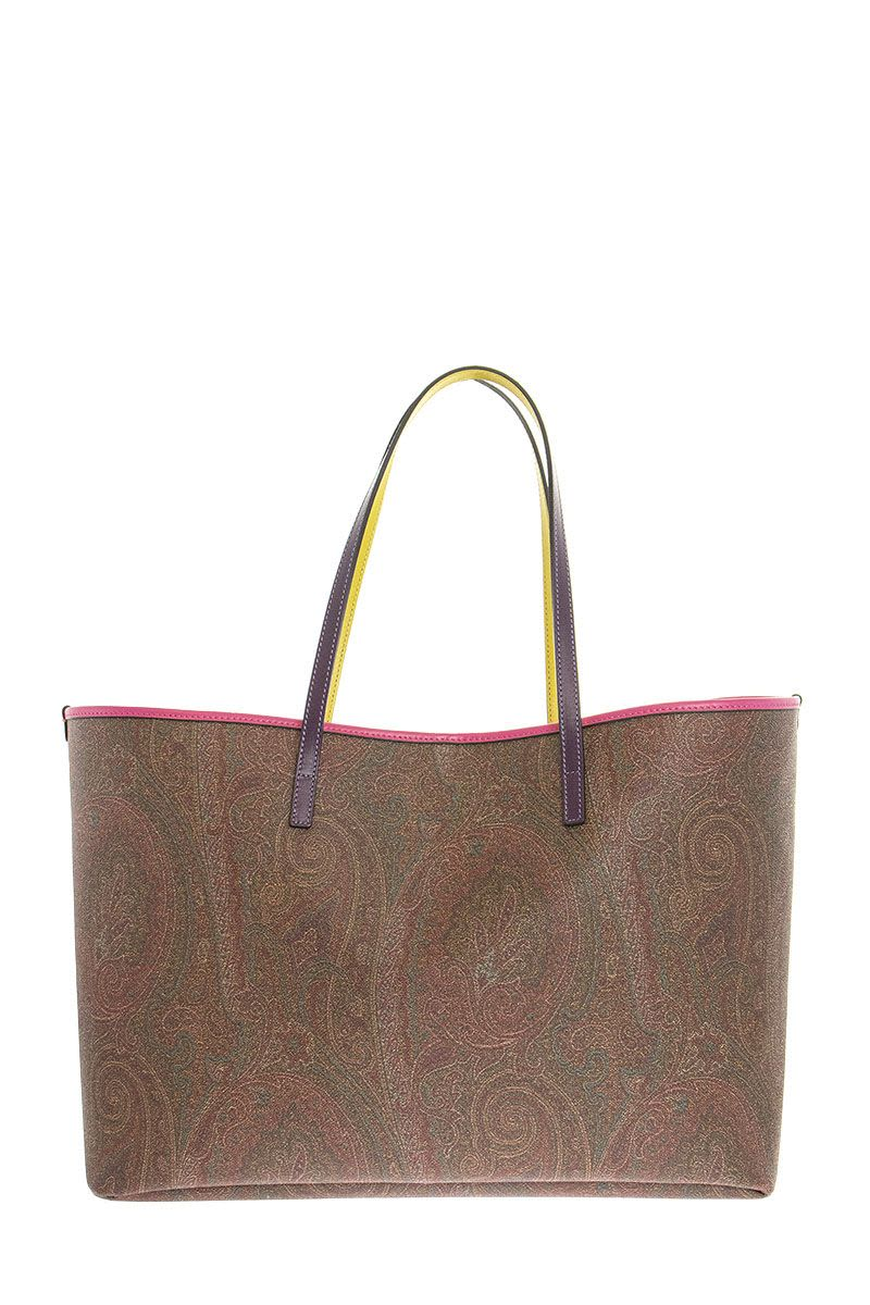 ETRO Large PAISLEY Tote Bag with pochette