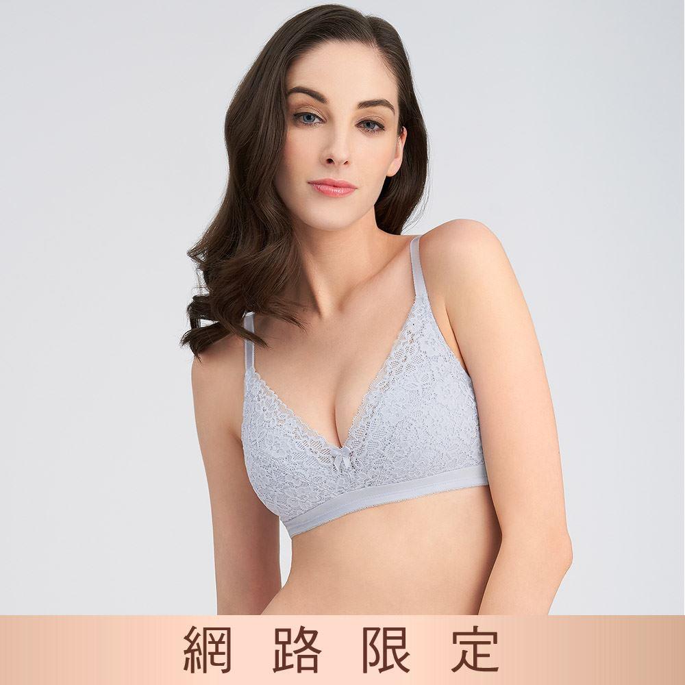 黛安芬-美型嚴選系列 無鋼圈 B-E罩杯內衣 神秘灰|11-1613 8X