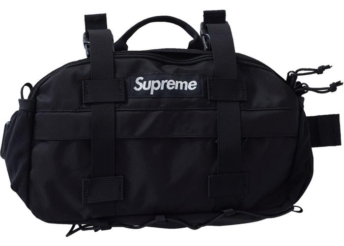Supreme 腰包 黑色