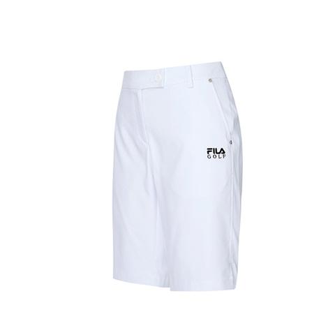FILA GOLF 平織短褲-白 5SHV-2109-WT