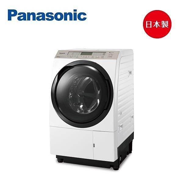 【南紡購物中心】Panasonic國際牌 日製11公斤洗脫烘變頻洗衣機 NA-VX90GL(左開)