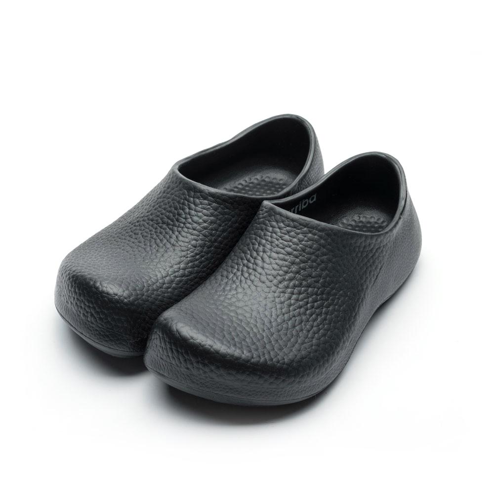 ARRIBA艾樂跑男女鞋-輕量防滑廚師鞋-黑(61488)