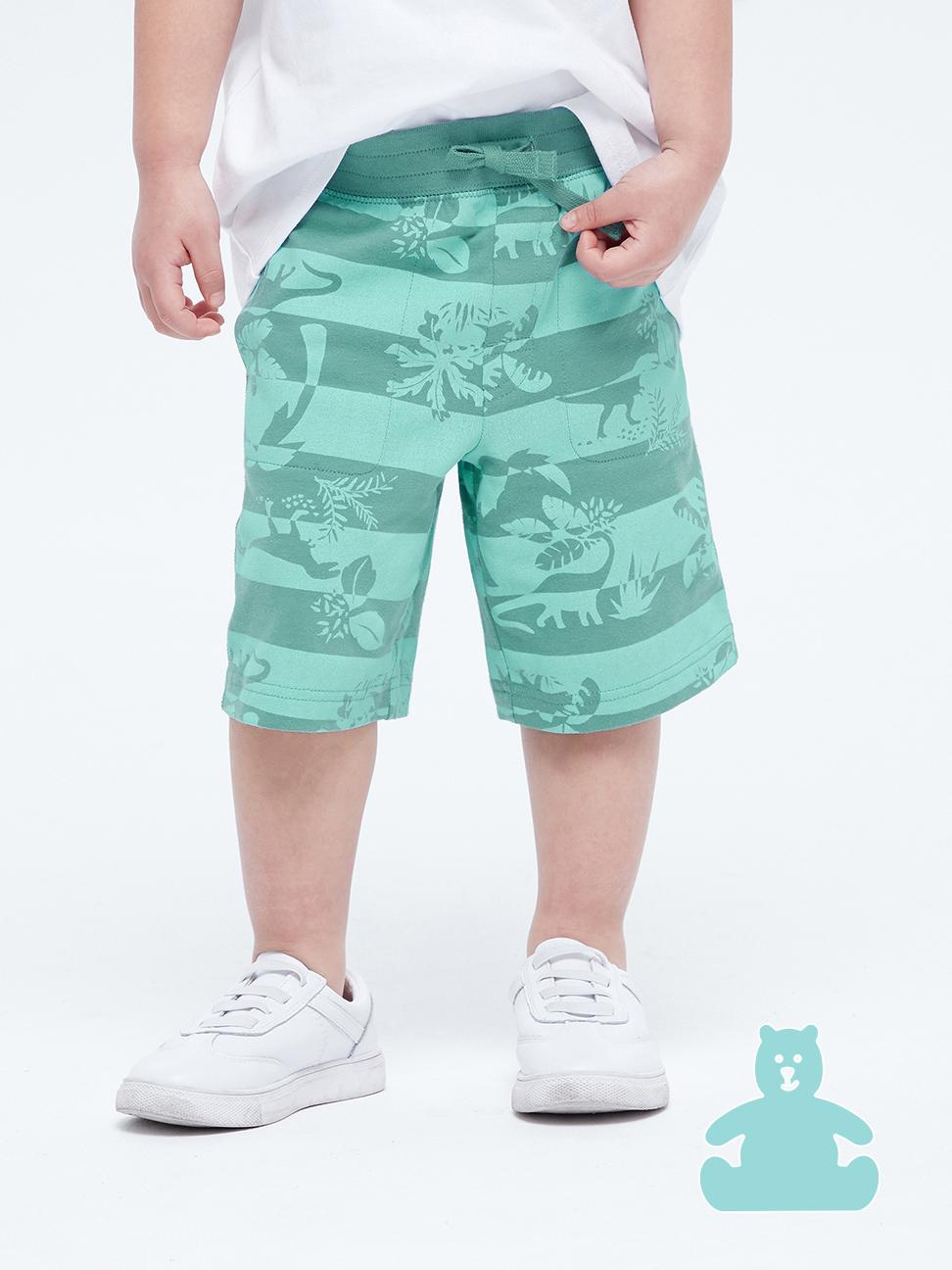 幼童 布萊納系列 口袋印花休閒短褲