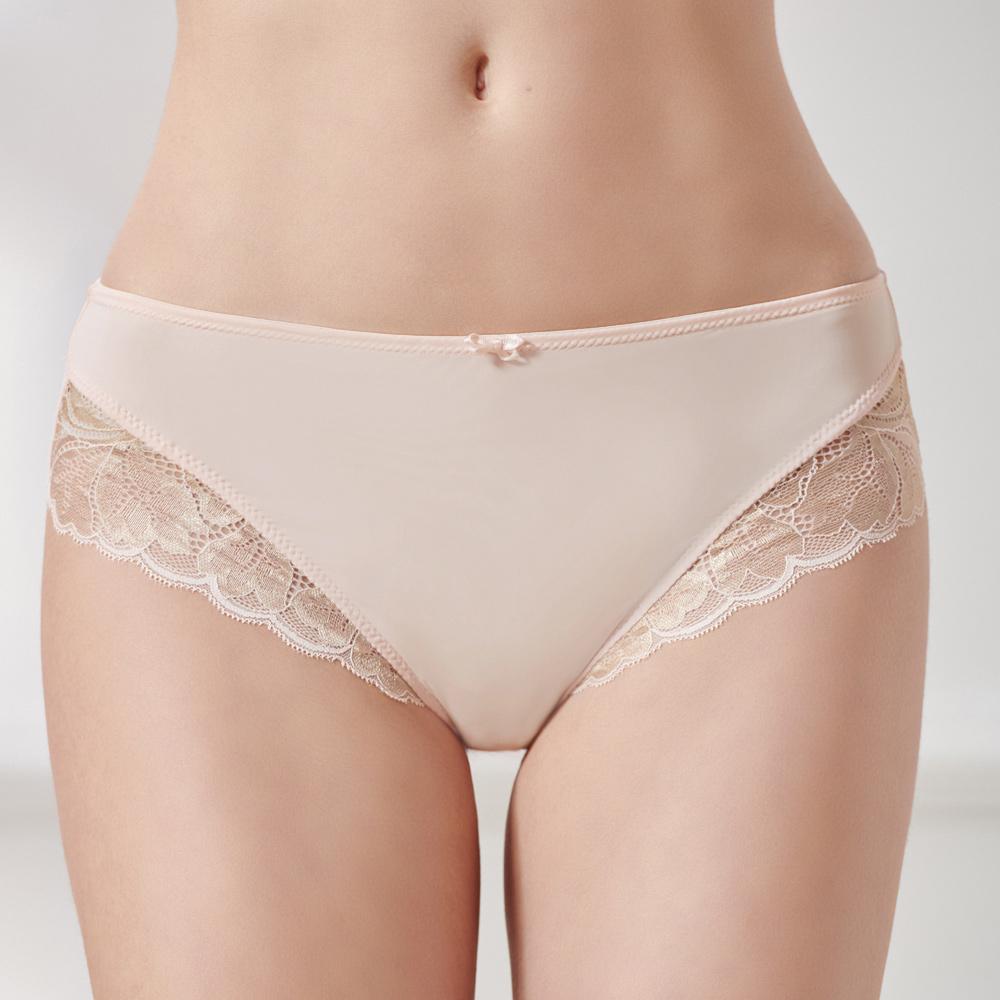 【2件9折】黛安芬-輕塑美型中腰三角內褲 M-EEL 蜜桃粉|Y74-6618 EZ