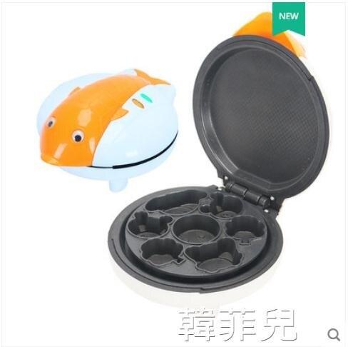 雞蛋仔機 奧貝斯電餅鐺迷妳自動家用多功能雙面加熱薄餅煎餅烘培蛋糕早餐機 2021新款