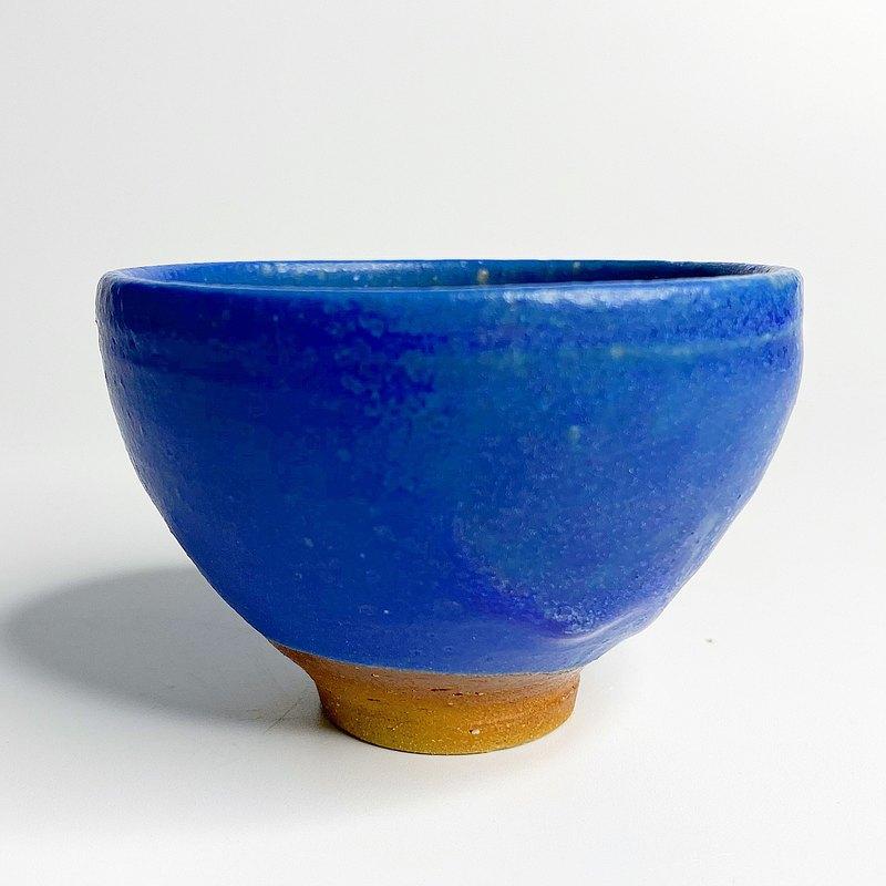 藍釉 I 純手工小茶碗