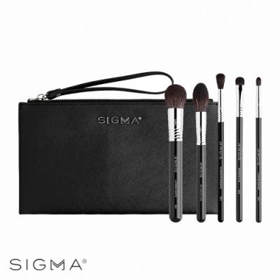 Sigma 超進化極選刷具5件組(附精緻皮革化妝包) Signature Brush Set