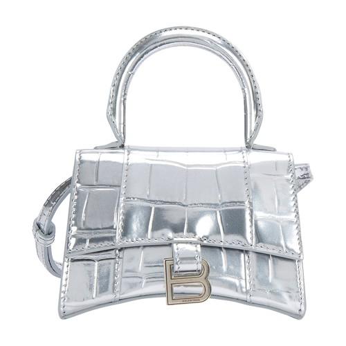 Hourglass Top Handle Mini bag