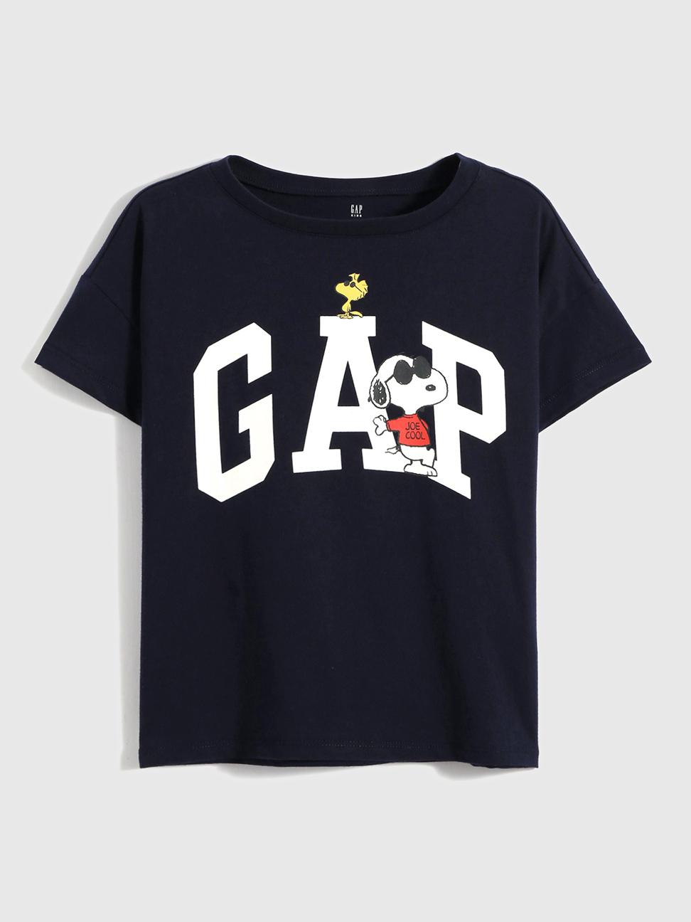 女童 Gap x Snoopy 史努比系列 純棉T恤