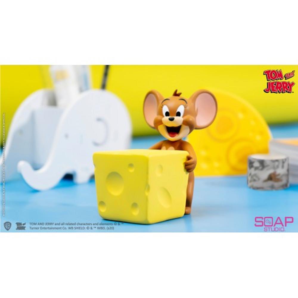 CA116 湯姆貓語傑利鼠 桌上夥伴 傑利鼠芝士磁鐵