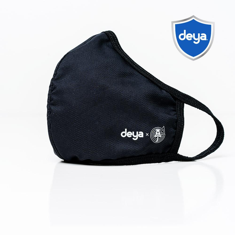deya 3D立體涼感抗菌布口罩 - 沉穩極黑